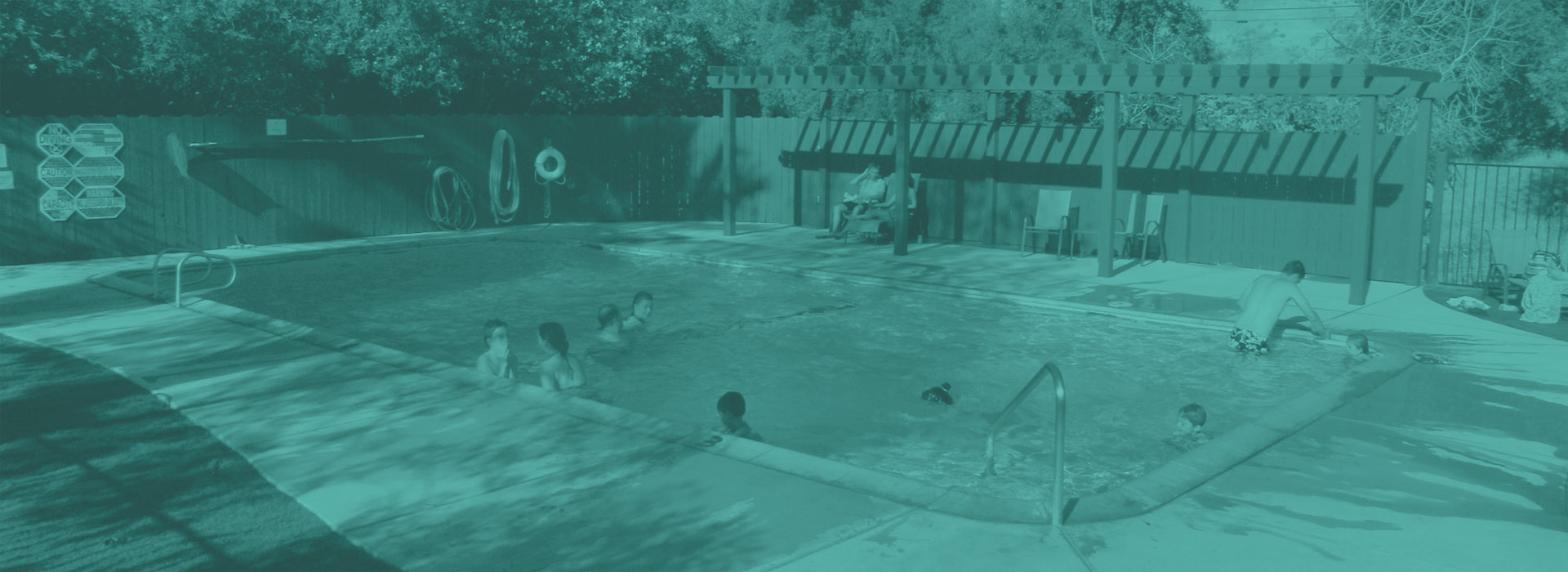 Clean Swimming Pool - Lemon Cove Campground - RV Park - Tent Camping - Three Rivers Camping