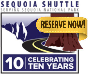 Sequoia Shuttle Service - Lemon Cove Village RV Park Campground